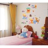 Stickers Murales Decorativos Removibles Winnie The Pooh