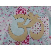 Figura Fibrofacil Yoga Zen Deco Om Para Pintar Oferta!!
