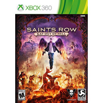 Jogo Novo Lacrado Saints Row Gat Out Of Hell Xbox 360