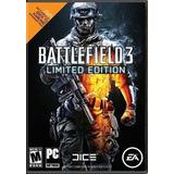 Battlefield 3 Limited Edition Origin Gift Card Pc