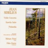 Cd Jean Sibelius Violin Concerto - Karelia Suite - Finlandia