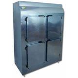 Geladeira Industrial Inox 4 Portas Refrigel