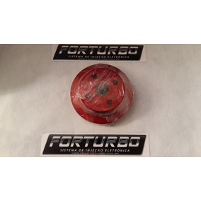 Polia De Aluminio Da Bomba D Agua Chevette Vermelha