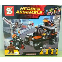 Heroes Assemble (compatível Com Lego)