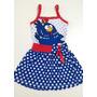 Vestido Infantil Galinha Pintadinha Roupa/fantasia