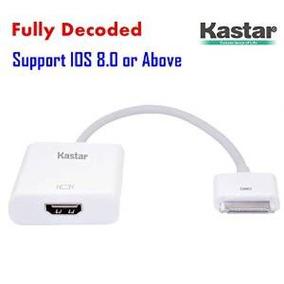 [totalmente Decoded] Kastar Nuevo Conector Dock Ipad Hdmi, I