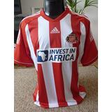 Camisa adidas Sunderland - Produto Europeu