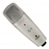 Microfone Condensador Behringer C-1 C 1 Estúdio Rádio +case