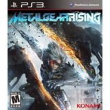 Metal Gear Rising: Revengeance // Nuevo Y Sellado Para Ps3