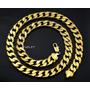 Corrente Cordão Folheado Ouro 12mm 24k 60cm Garantia 2 Anos