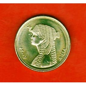 Egipto 50 Piastras Cleopatra - Sin Circular - Sensacional !!
