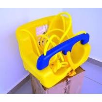 Balanço Infantil Plastico Xalingo Com Inmetro Amarelo