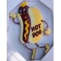 Set De Cuadros Figuras Fast Food