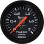 Medidor Pressão Turbo 2kg Manômetro Turbina Willtec 52mm Pre