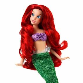Disney Store Boneca Pequena Sereia Ariel Original E Licencia