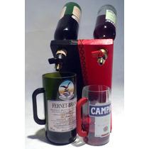 Botellas Doble Dispenser Campari Fernet