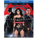 Batman Vs Superman Dawn Of Justice Bluray Nuevo/sellado