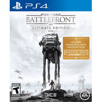 Ps4 - Star Wars Battlefront Ultimate Edition - Nuevo- Ag