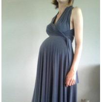 Vestido Vanesa Multivestido Embaraza Seda Fria Al Talle 8xxl