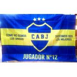 Bandera Boca Jrs Jugador N°12