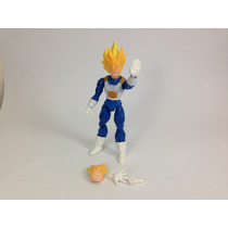 Boneco Dragon Ball Z Vegeta Dbz - Pronta Entrega