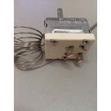Termostato Para Fritadeira Ou Forno-50/320ºc=16 Amp. + Botão