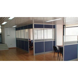Divisiones Oficina Tipo Call Basic En Aluminio Y Melamina