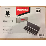 Set Kit De Cinceles Sds Max Makita Con Maletin D-40624 X 3u