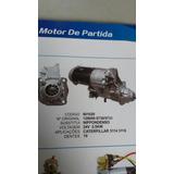 Motor De Partida Caterpillar 3114 3116 128000-5730 /5731