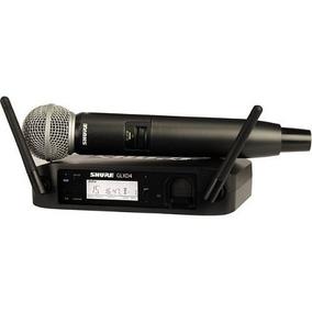 Microfone Shure Sem Fio Glxd Sm-58