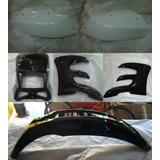 Kit Plasticos Guerrero Gxr 200 Tundra Negro Con Blanco - 2r