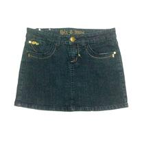 Ropa Damas Casual Falda Corta Six 6 Jeans
