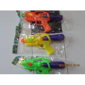 Kit 3 Armas Pistolas De Água