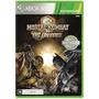 Mortal Kombat Vs Dc Universe Mídia Física Xbox 360