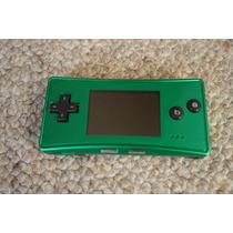 Game Boy Advance Micro Gba Micro Nintendo Verde Green