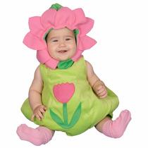 Disfraz De Flor Primavera Bebes Niñas Trajes Rosa Animales