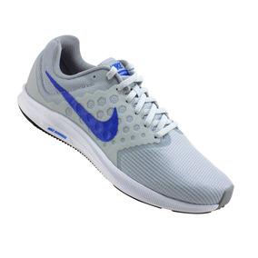Tenis Nike Downshifter 7 Gris/azul Running Para Caballero