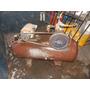 Compresor Para Gomería, Bicilindrico, Motor Monofásico.