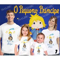 Kit Camisetas Personalizada Aniversario O Pequeno Principe