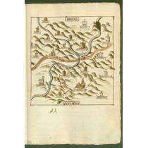 Lienzo Tela Mapa Ixcatlán Santa María Oaxaca México 1578