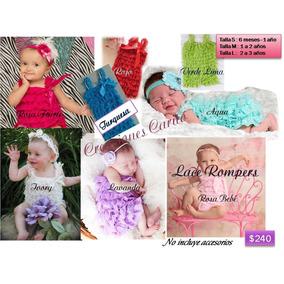 Lace Rompers Bebita, Bebe