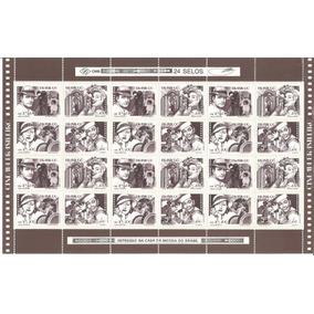 1990 C-1687 A 1690 Folha Selos Cinema Brasileiro Mint Leia+
