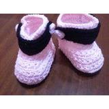 Botas Super Abrigadas Crochet Oferta