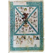 Lienzo Códice Atl Tlachinolli Historia Arte Azteca México