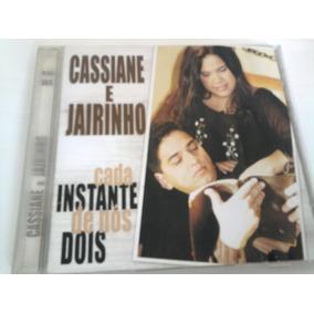 Cd Cassiane E Jairinho Cada Instante De Nós Dois