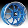 Rin Konig Lightning Azul 15x7 4-100 Honda Vw