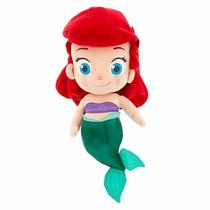 Boneca De Pelúcia Princesa Ariel Baby Pronta Entrega