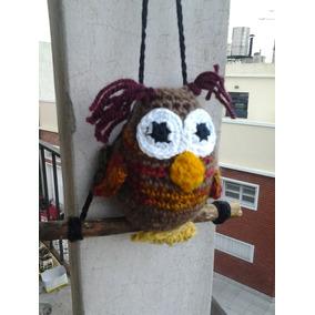 Lechuza/buho Tejidos Crochet