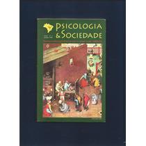 Livro Psicologia & Sociedade - Vol. 8 Nº1 - Abrapso - Fj.jr