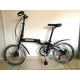 Bicicleta Dobrável Importada - Quadro Em Alumínio - Nova